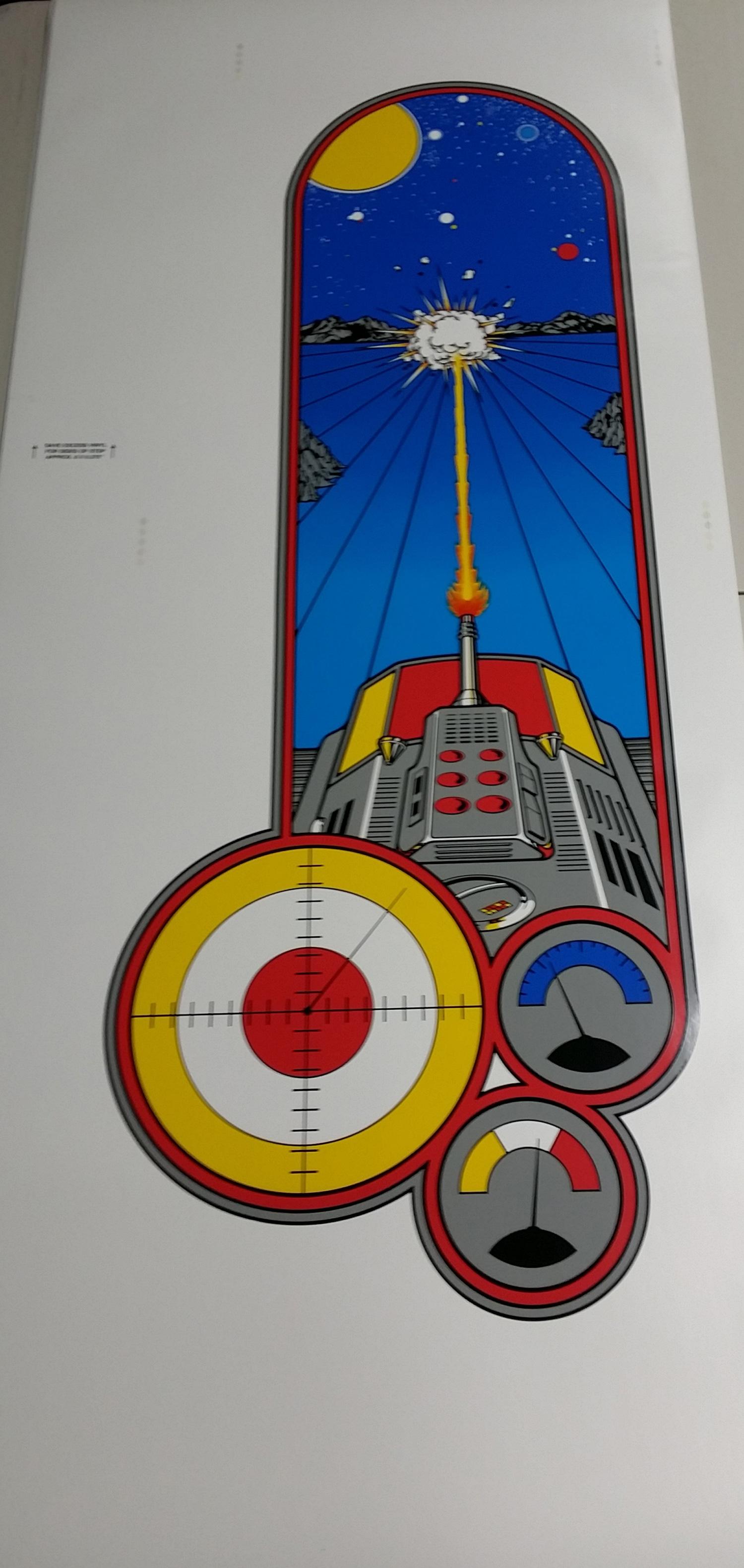 Battlezone Upright Side Art Phoenix Arcade 1 Source