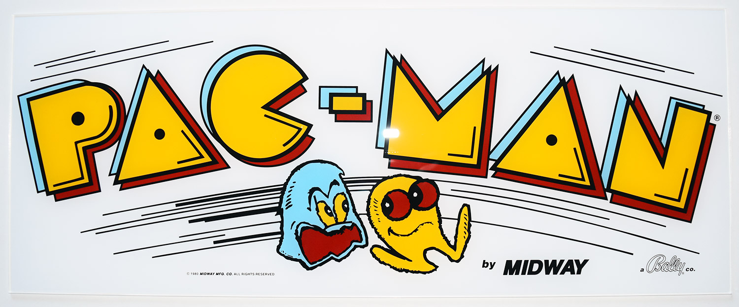 pac man acrylic marquee phoenix arcade 1 source for screen