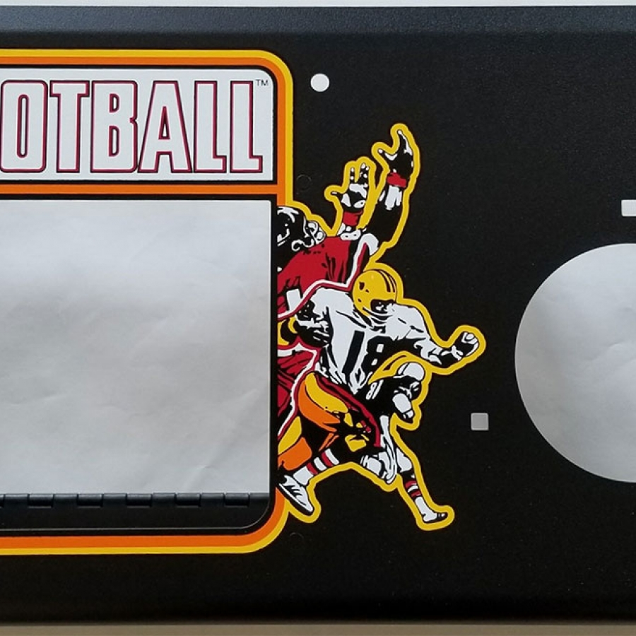 Atari Football Metal Panel Set