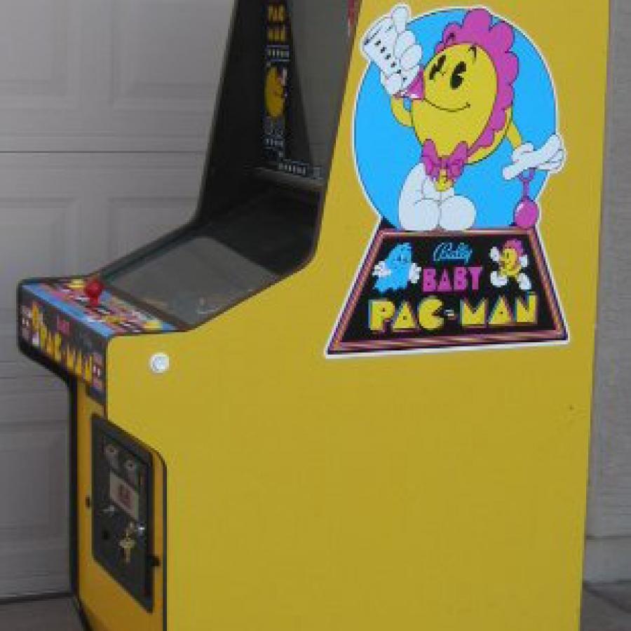 Baby Pac-Man Side Art