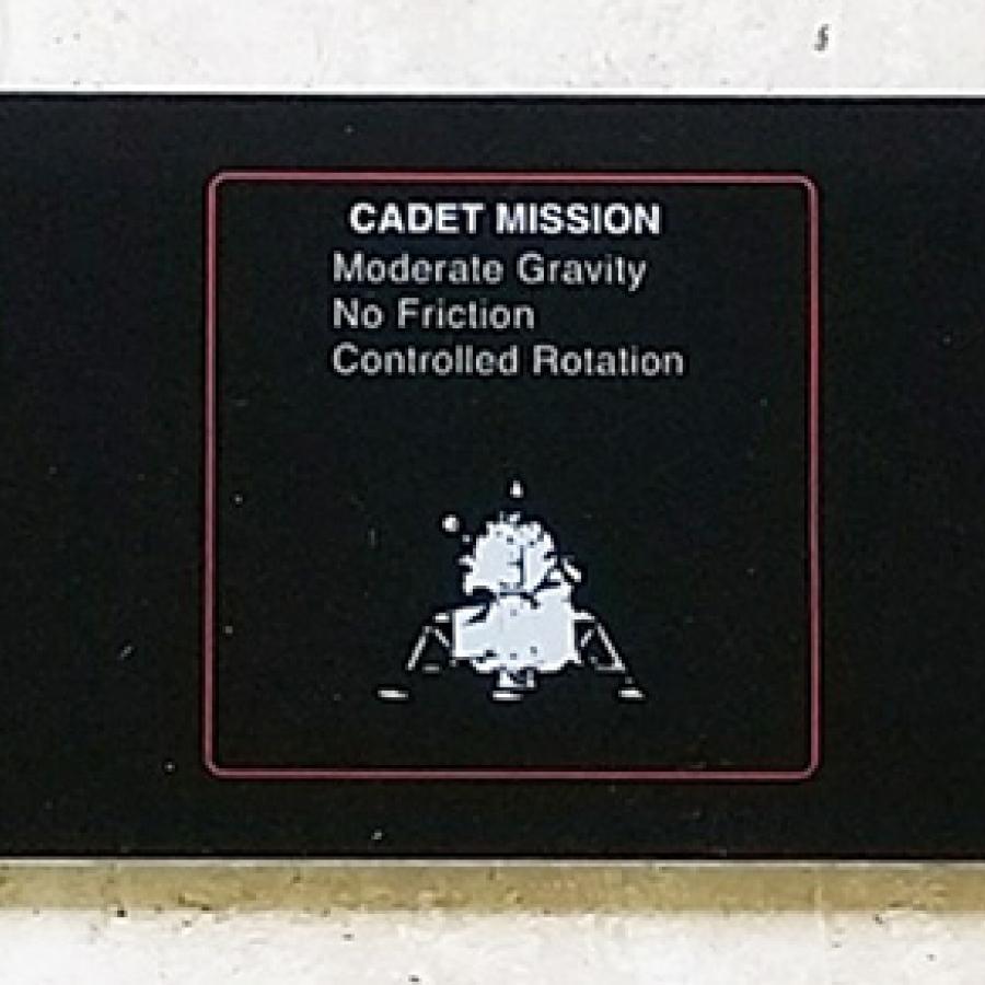 Lunar Lander Mission Plexi