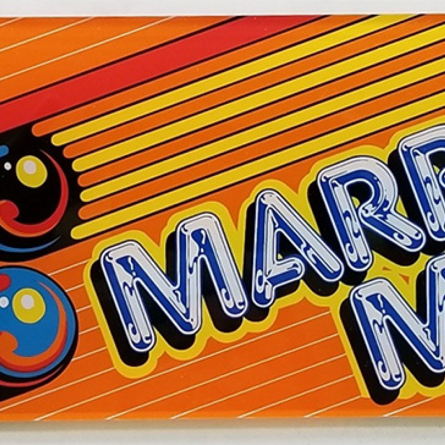 Marble Madness Acrylic Marquee