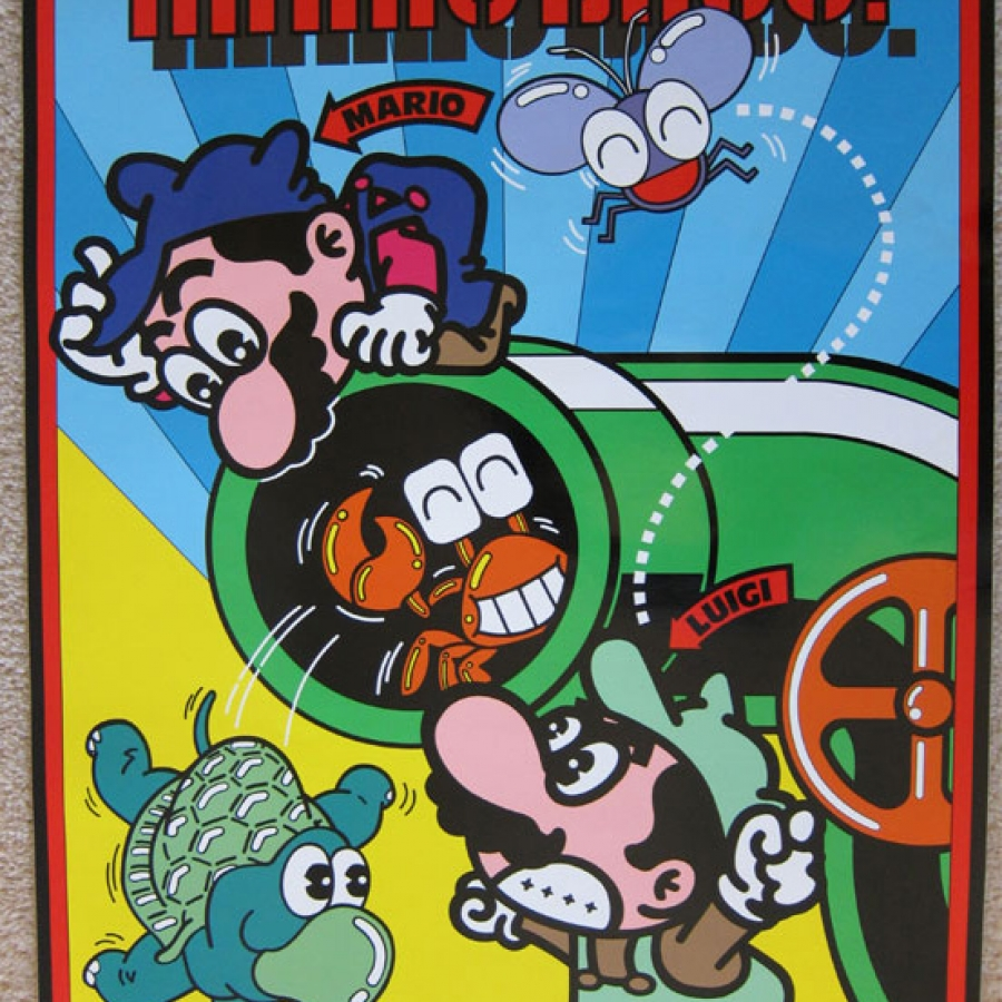 Mario Brothers Side Art