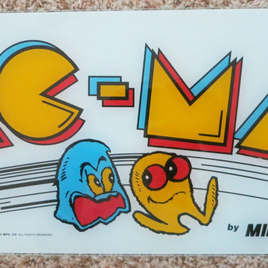 Pac-Man Acrylic Marquee
