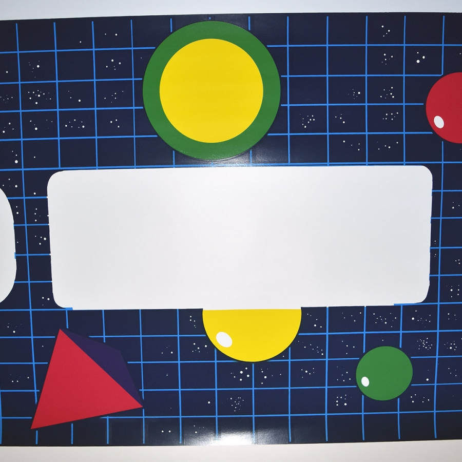 Quantum Left Side, Right Side, Front Panel