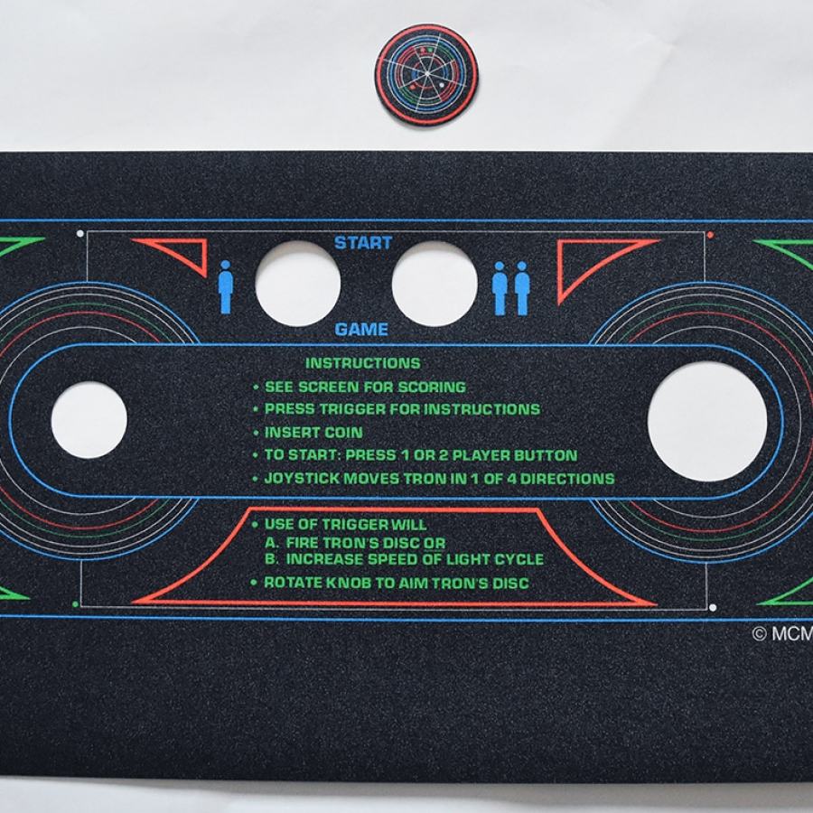 Tron CPO with spinner decal