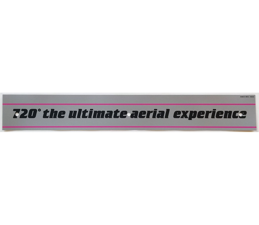 720 Ultimate Aerial Experience Decal