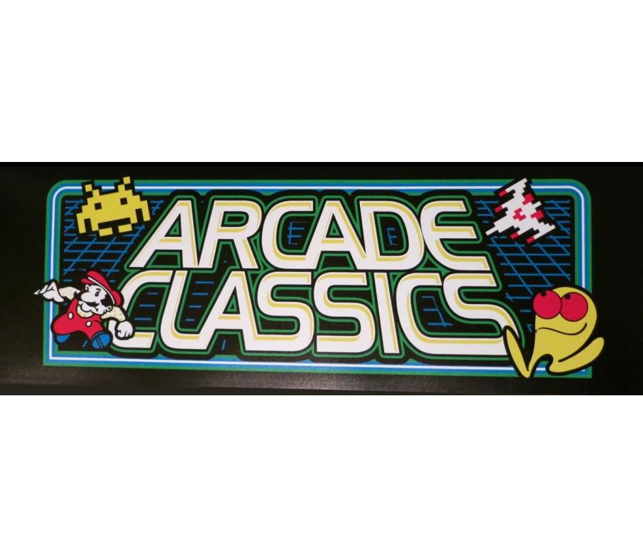 Multicade Arcade Classics Translite