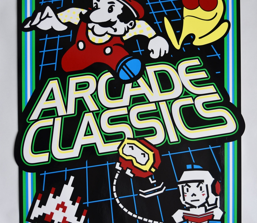Multicade Arcade Classics Side Art