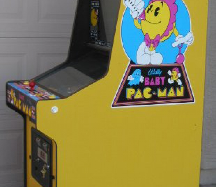 Baby Pac-Man Side Art