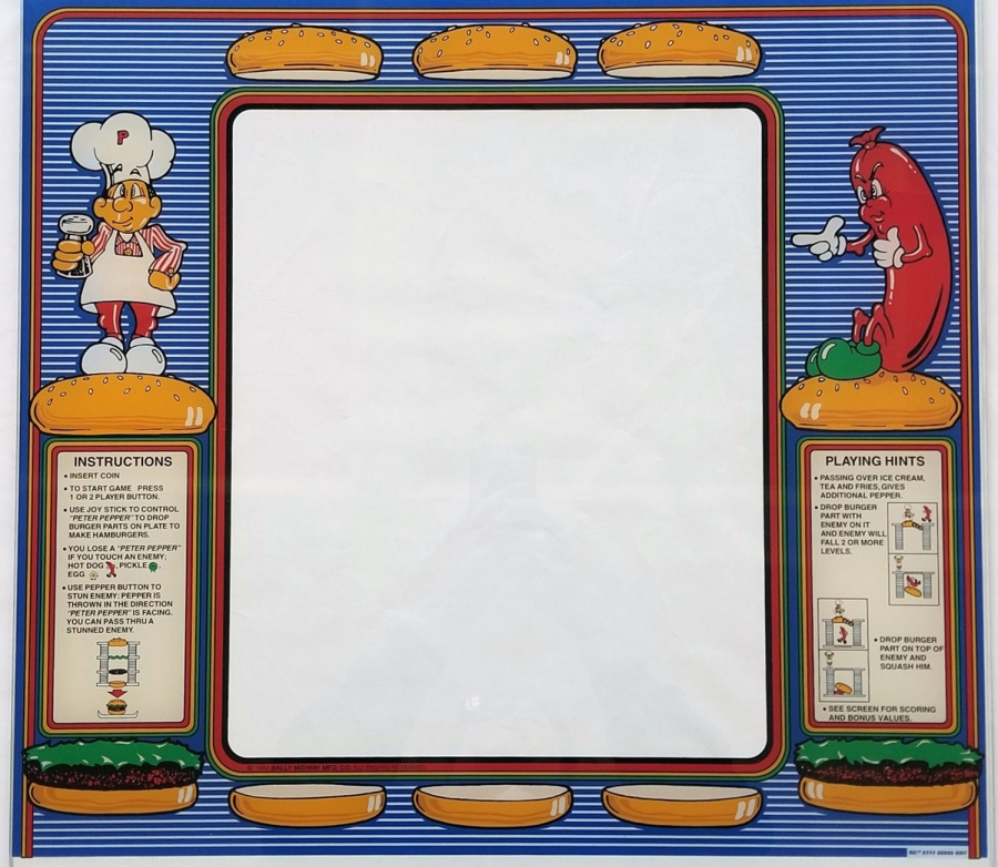 BurgerTime Glass Bezel