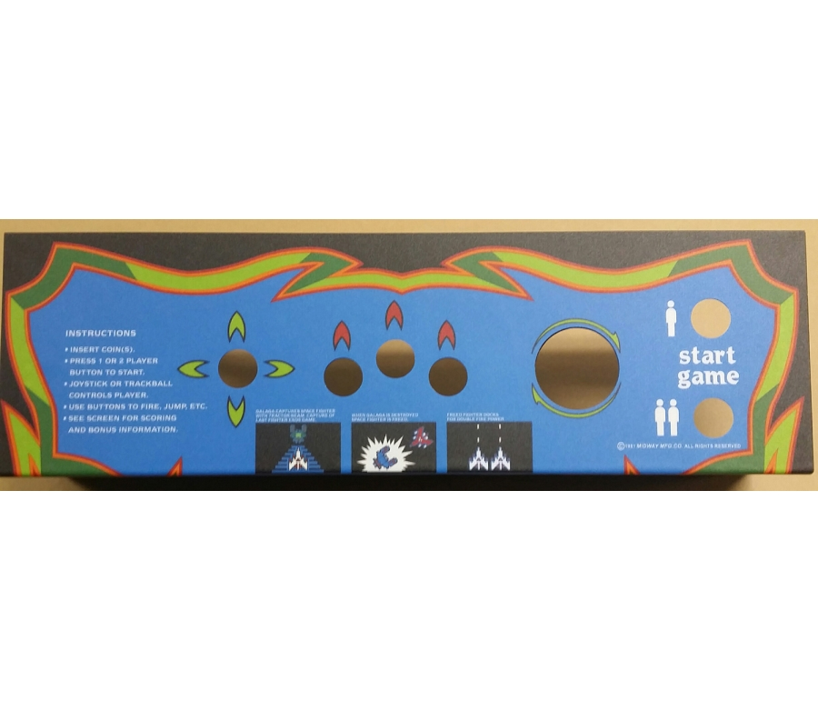 Galaga Multigame CPO with Panel