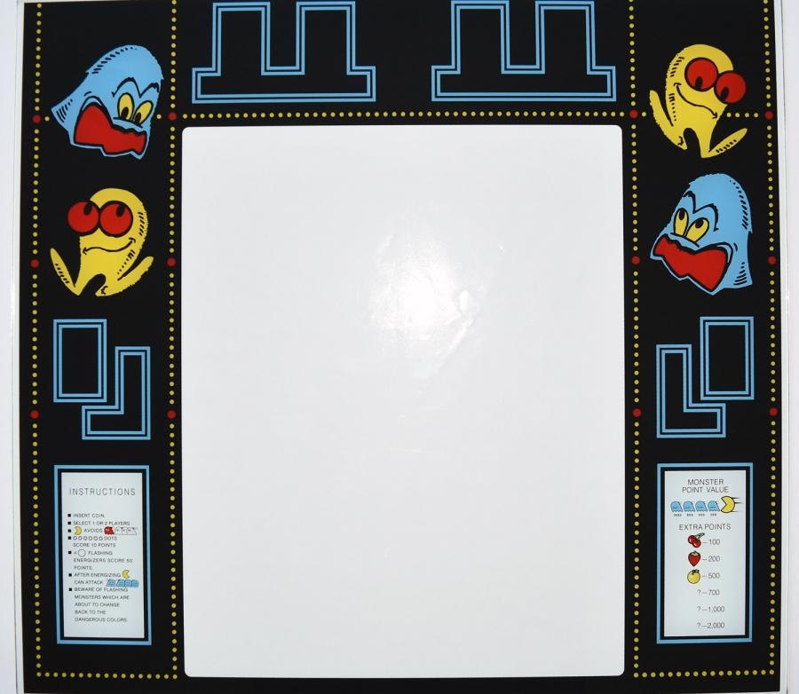 Pac-Man Glass Bezel