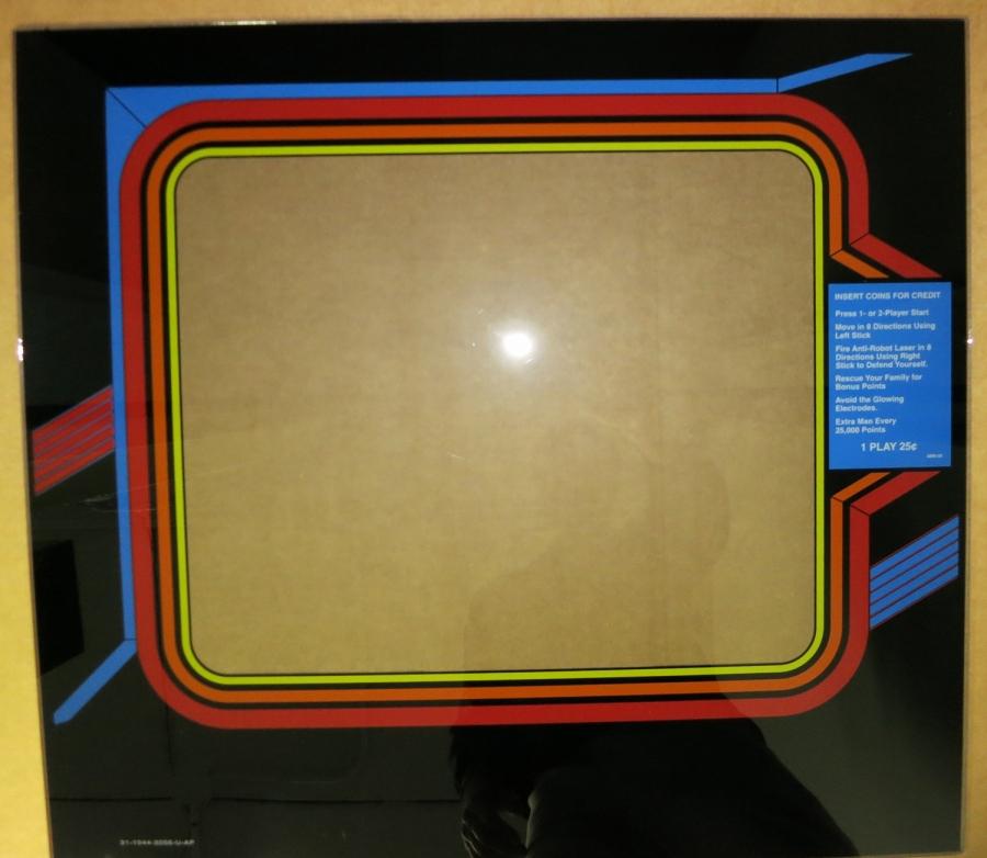 Robotron Glass Bezel