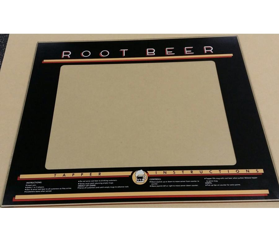 Root Beer Tapper Glass Bezel