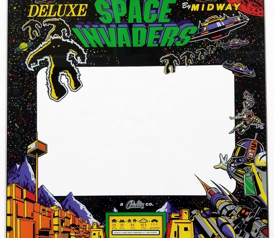 Space Invaders Deluxe Bezel