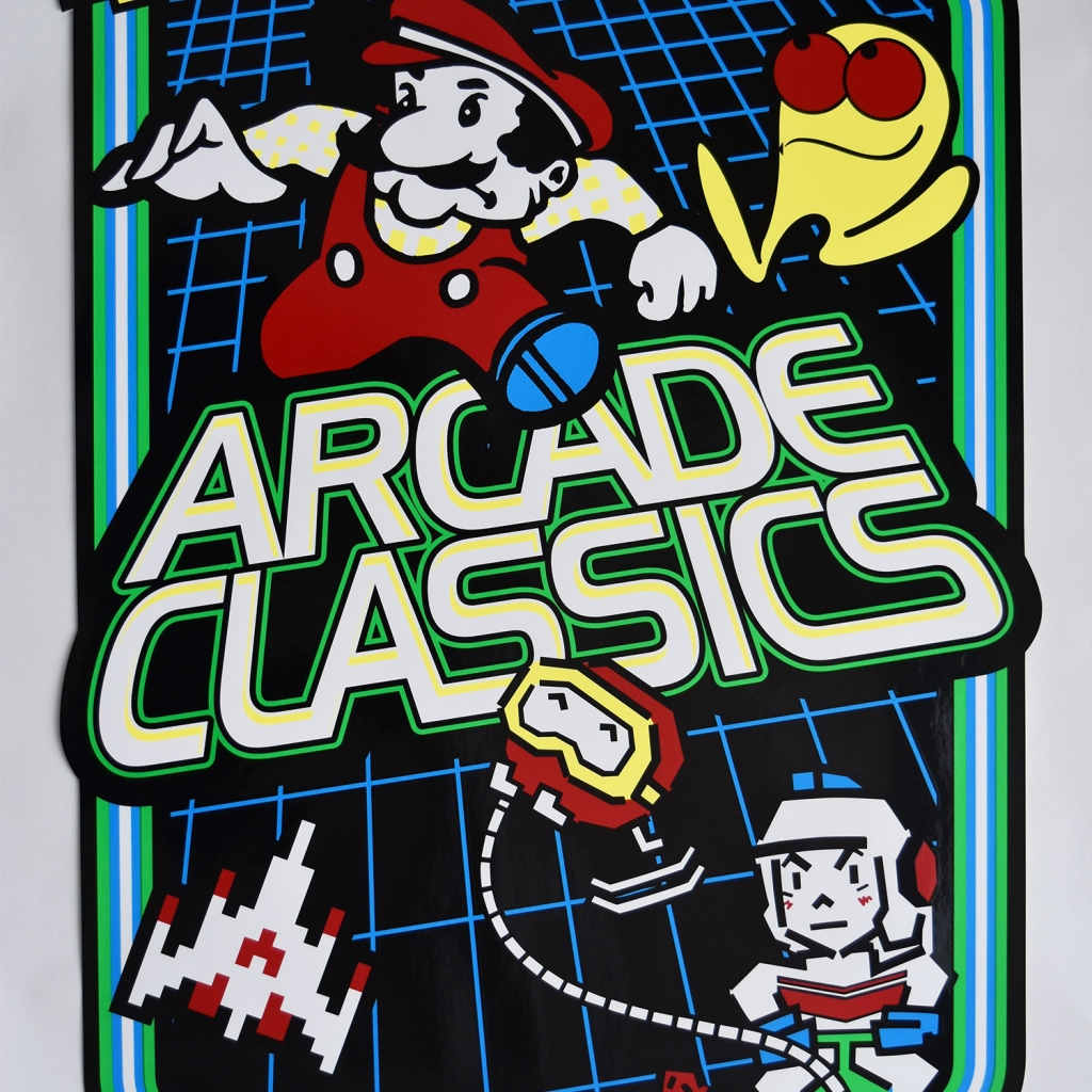 Multicade Arcade Art Kit