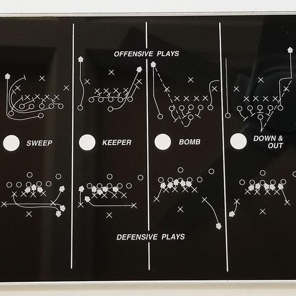Atari Football Play Selector