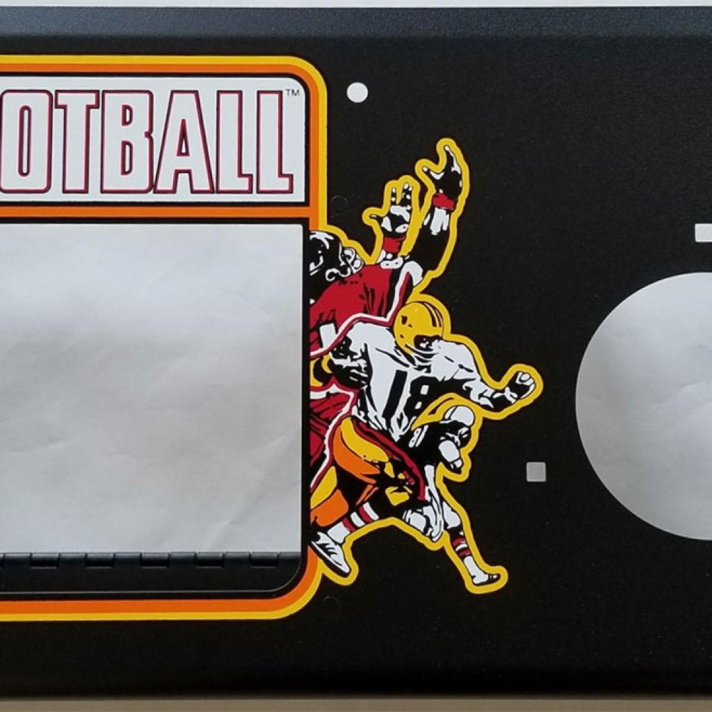 Atari Football Metal Panel Set