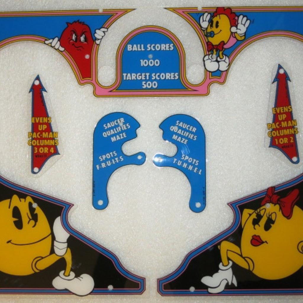 Baby Pac-Man Plastics