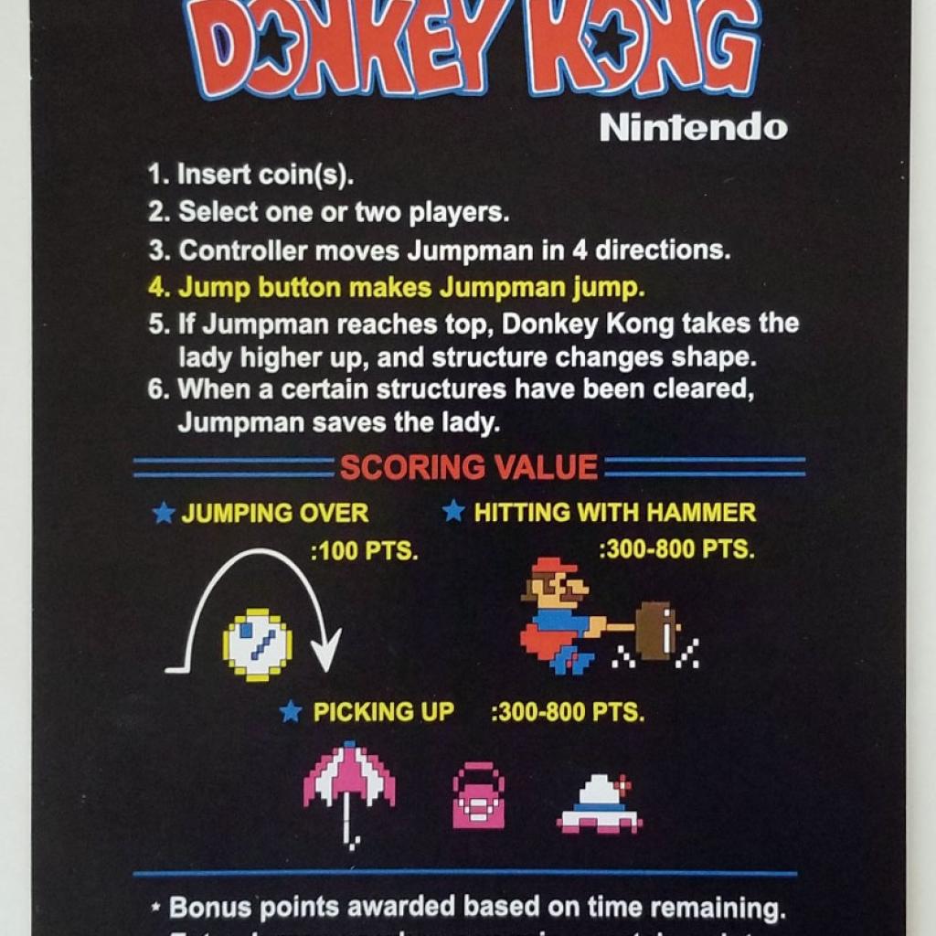 Donkey Kong CPO