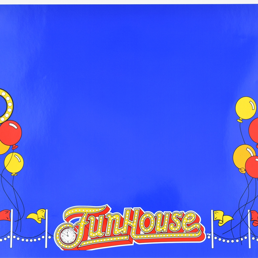 Funhouse 5 Piece Cabinet Decal Set TPF Approved