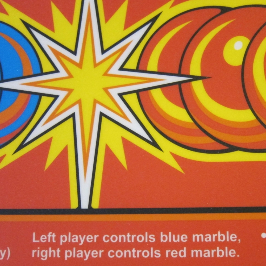 Marble Madness CPO Detail