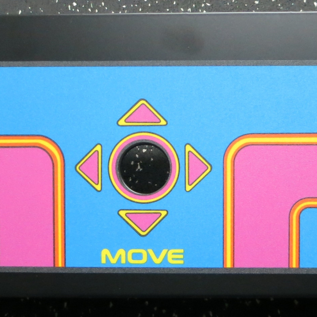 Ms. Pac-Man Metal Panel