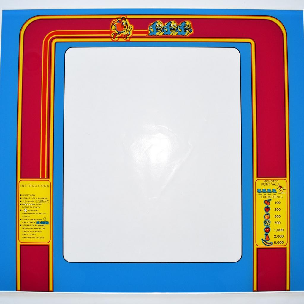 Ms. Pac-Man Glass Bezel