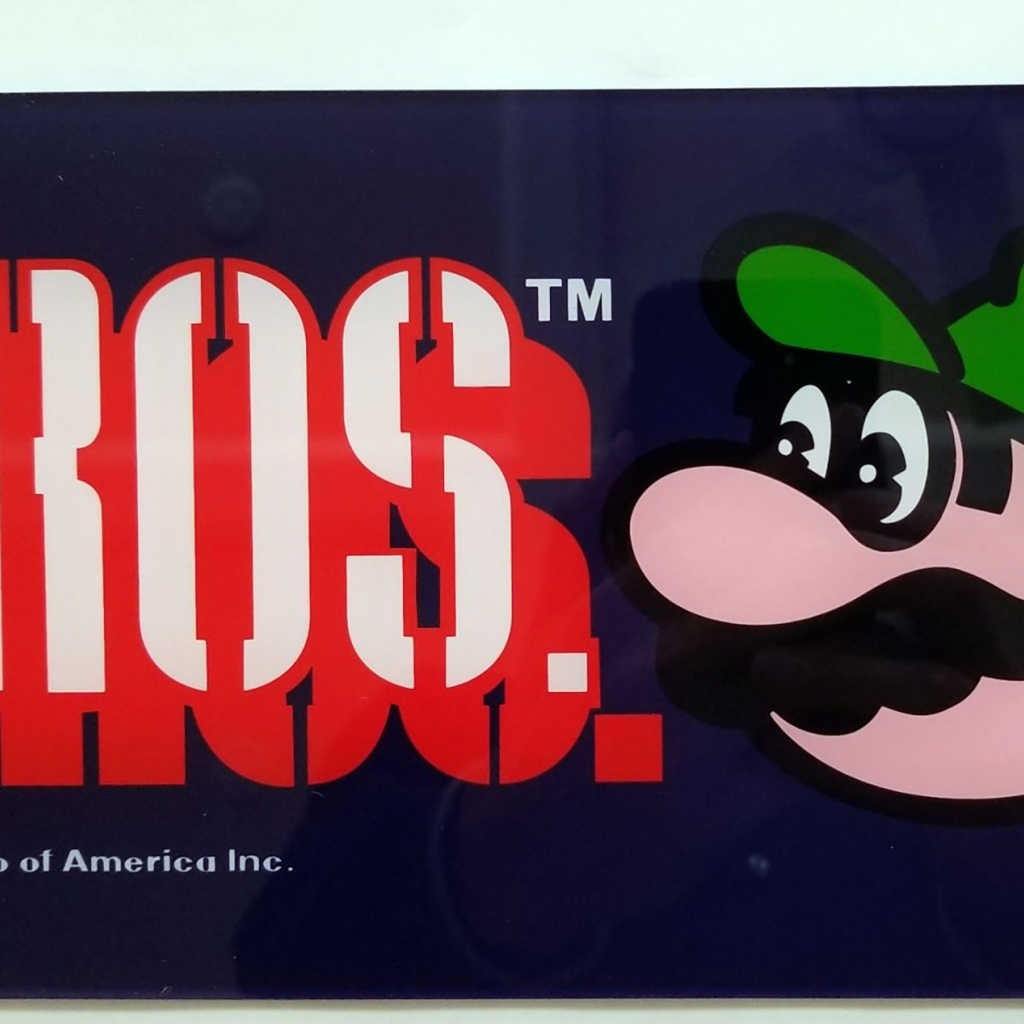 Mario Brothers Narrow Body Marquee