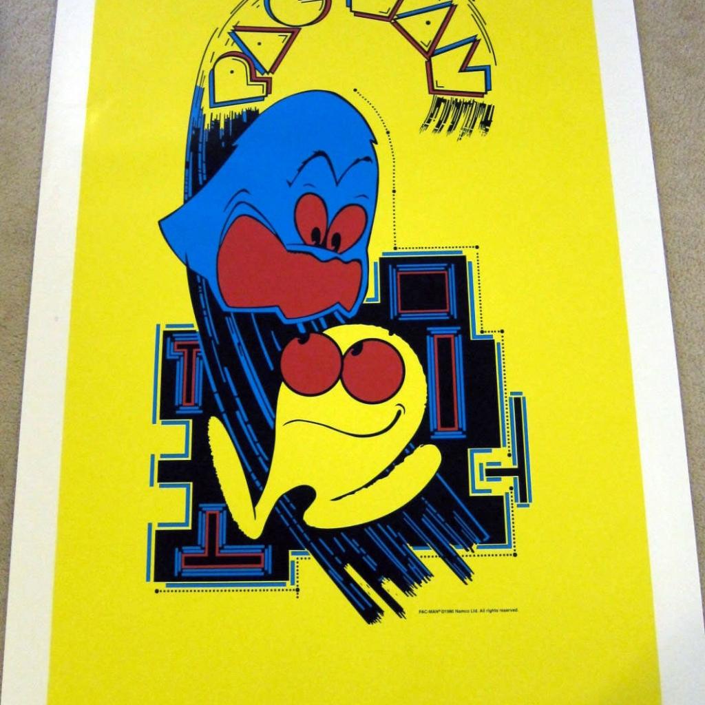 Pac-Man Side Art