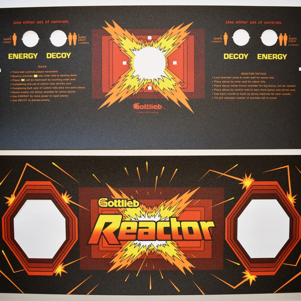 Reactor CPO and Speaker Grill Overlay Set