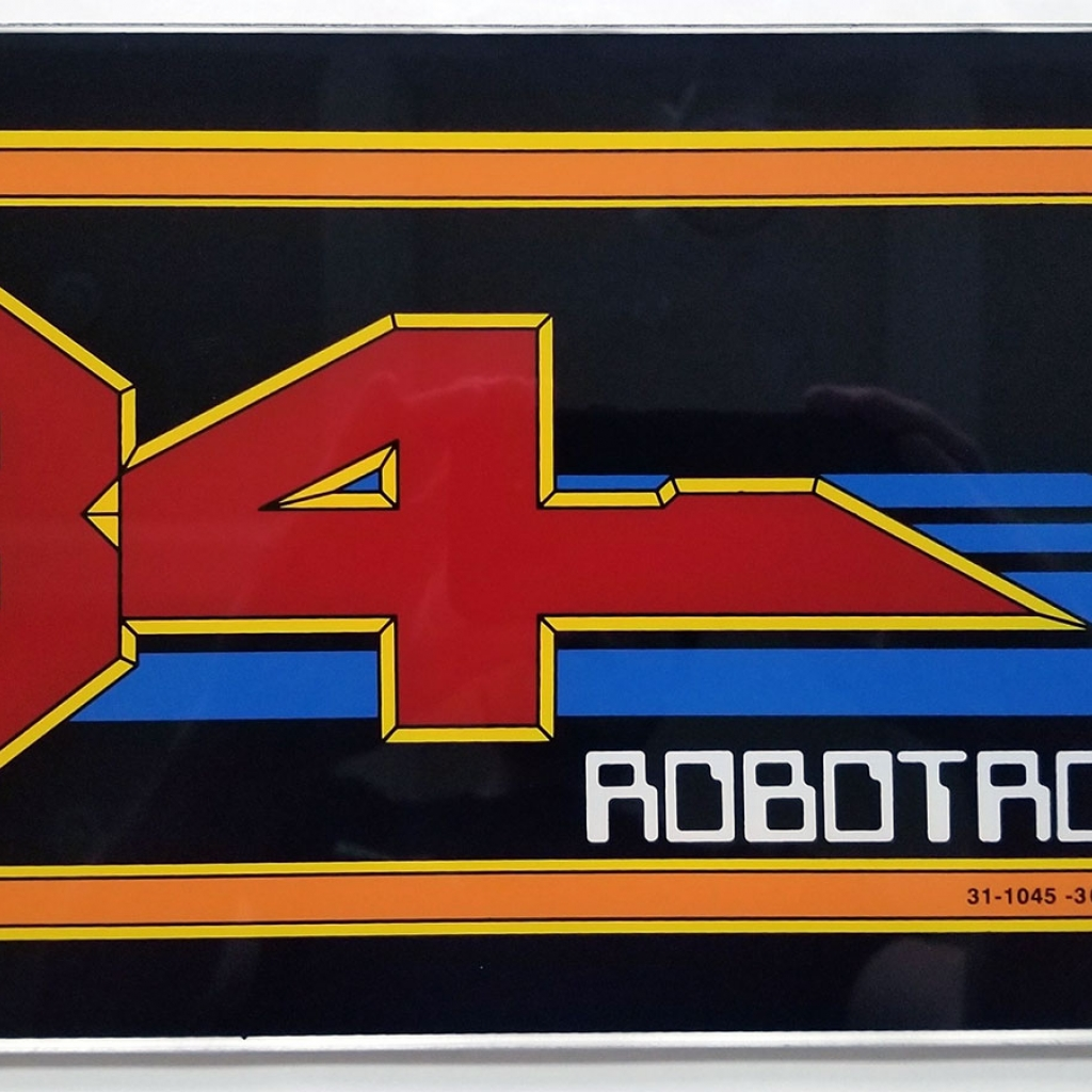 Robotron Proto Marquee Wall or Box Sign (will not fit the game)