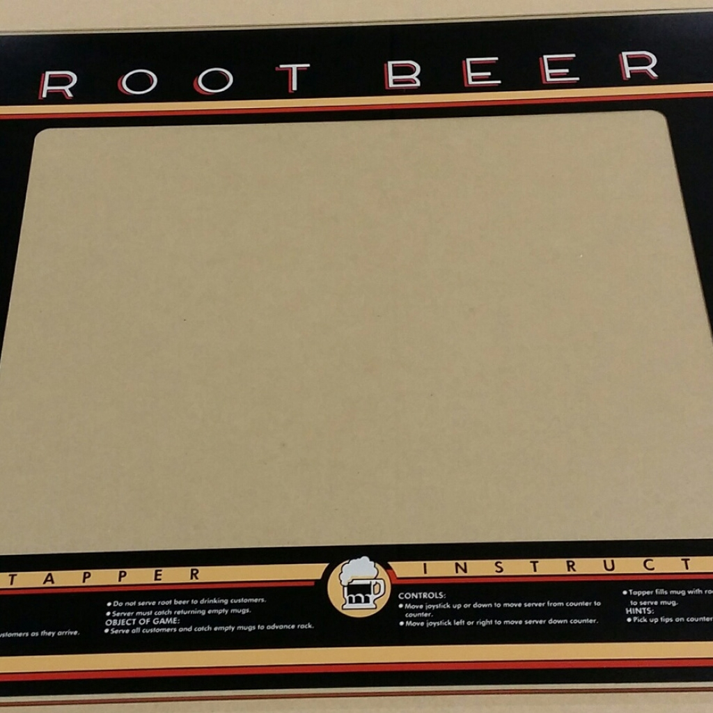 Root Beer Tapper Glass Bezel