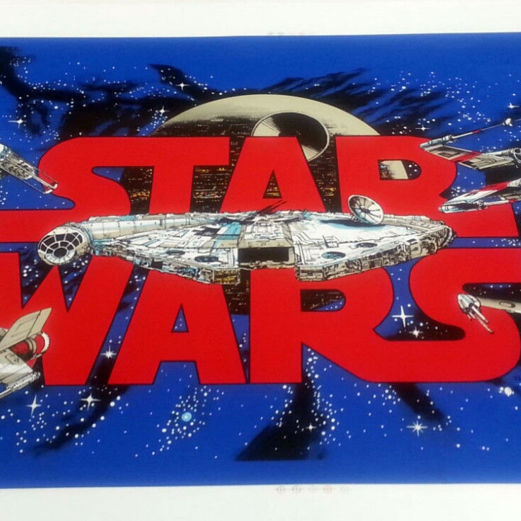 Star Wars Data East Pinball Cabinet Decal Set