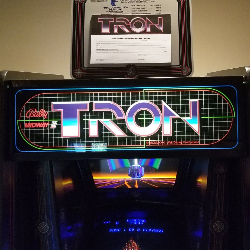 Tron Tournament Standup on Tron