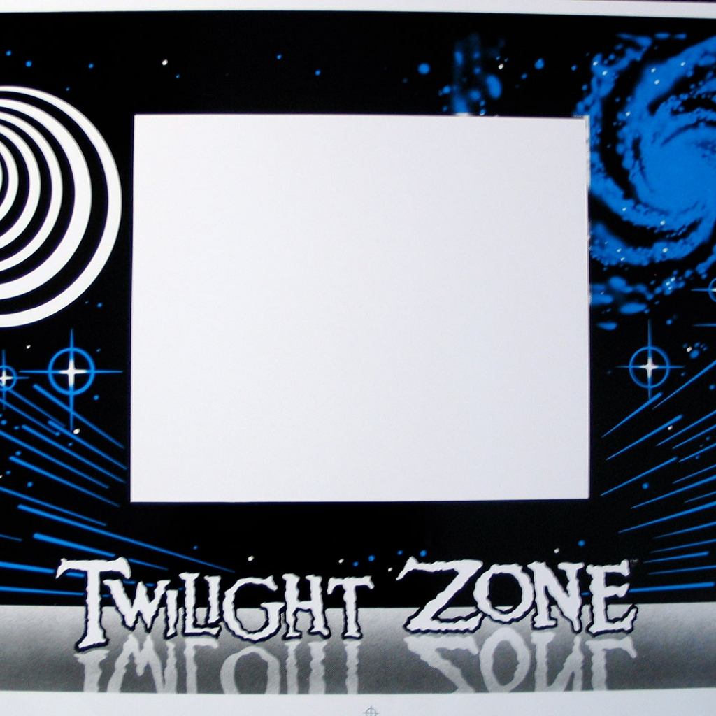 Twilight Zone Cabinet Decal Set