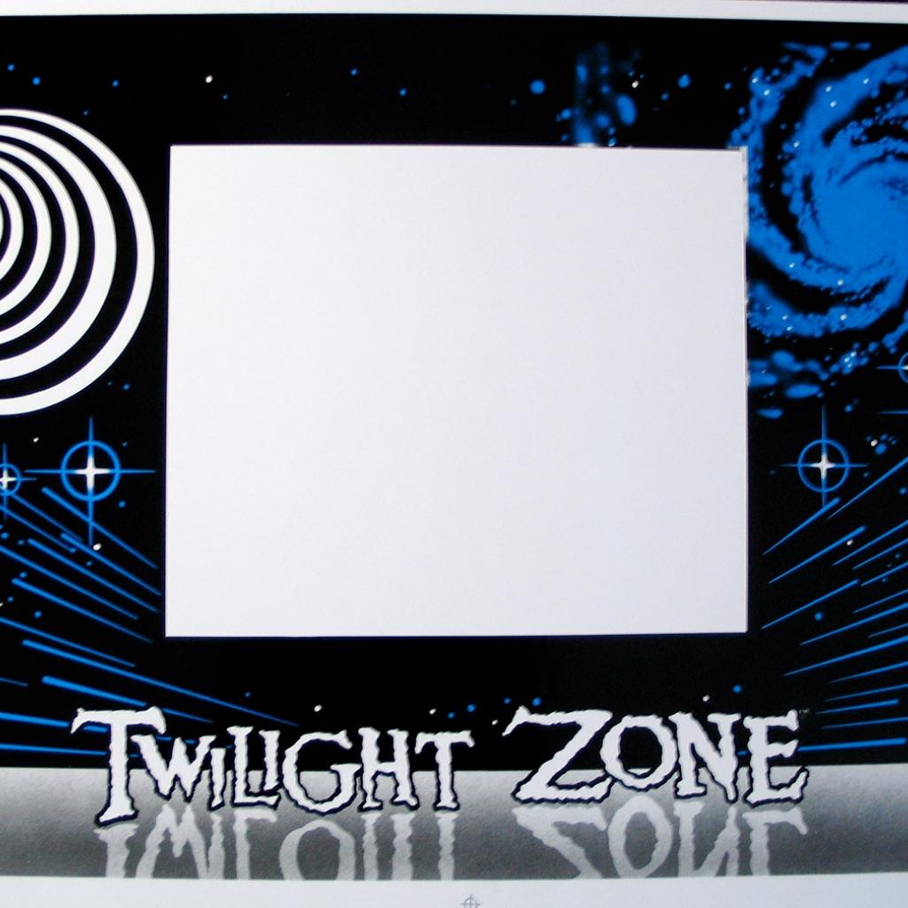 Twilight Zone Cabinet Decal Set