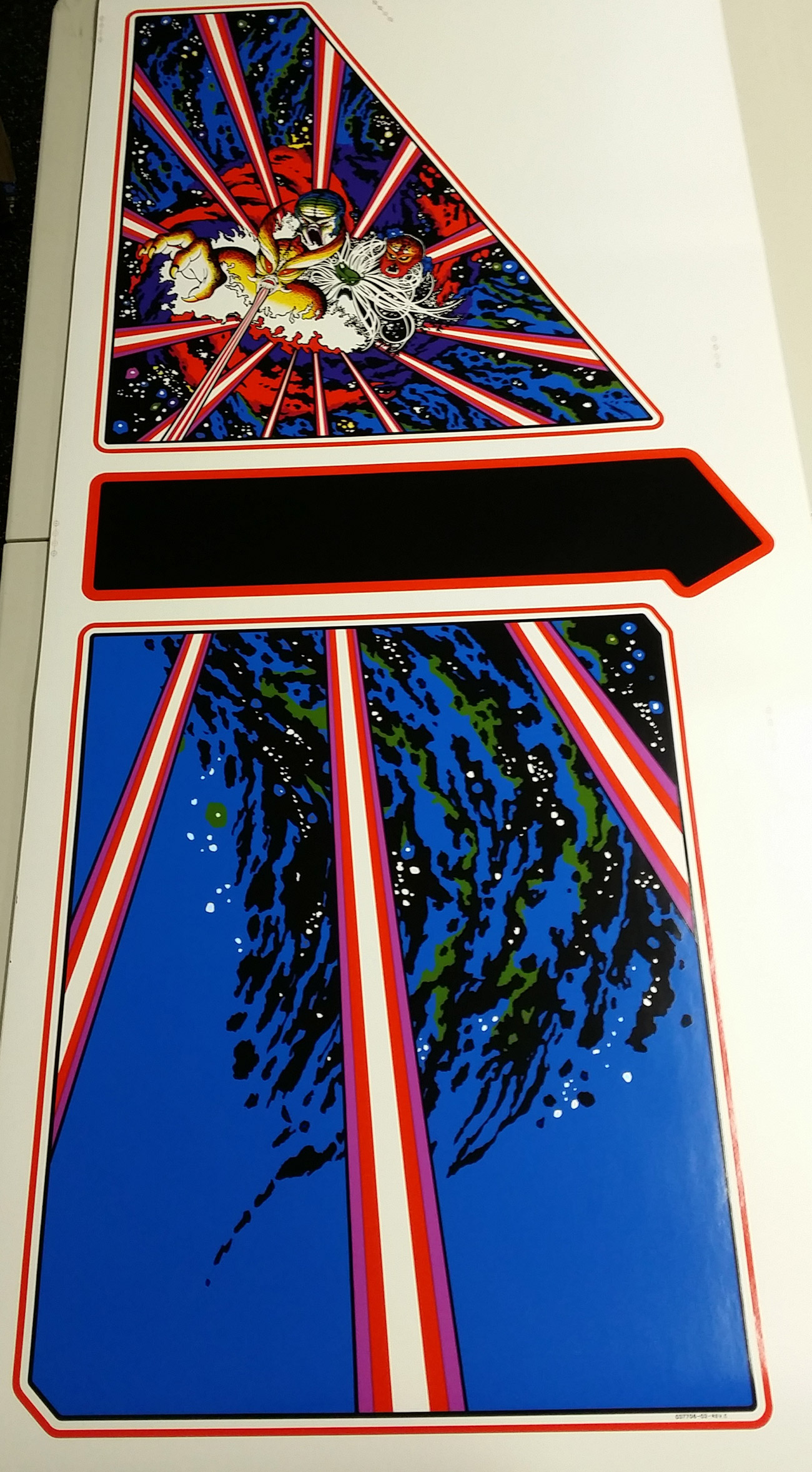 Tempest Upright Side Art Phoenix Arcade 1 Source For