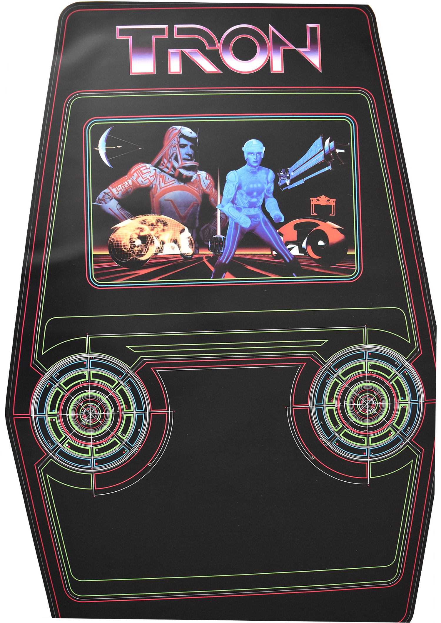 Tron Side Art Phoenix Arcade 1 Source For Screen