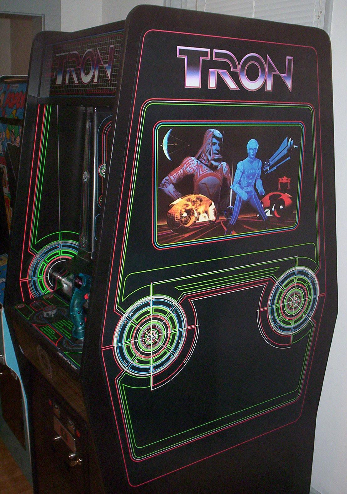 Tron Side Art Phoenix Arcade 1 Source For Screen